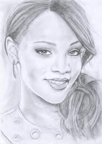 Rihana le dessin ma - Portrait dessin facile ...
