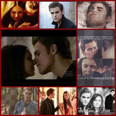 Un peu de tendresse avec Stefan et Elena