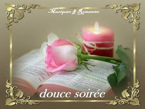 douce soirée !!!