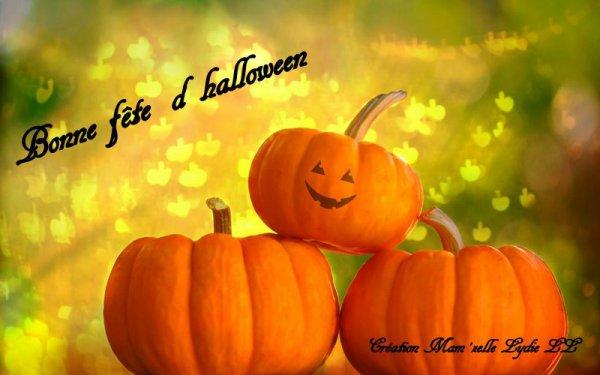 Bonne Fête d ' Halloween