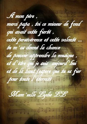 Hommage à mon Père ......