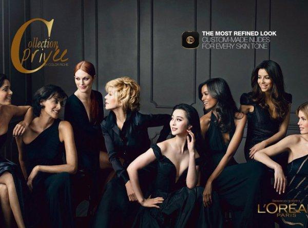 L'Oréal/Jane Fonda, Eva Longoria, Inès de La Fressange, Julianne Moore, Freida Pinto,
