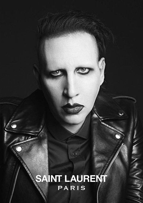 Yves Saint Laurent/Marilyn Manson