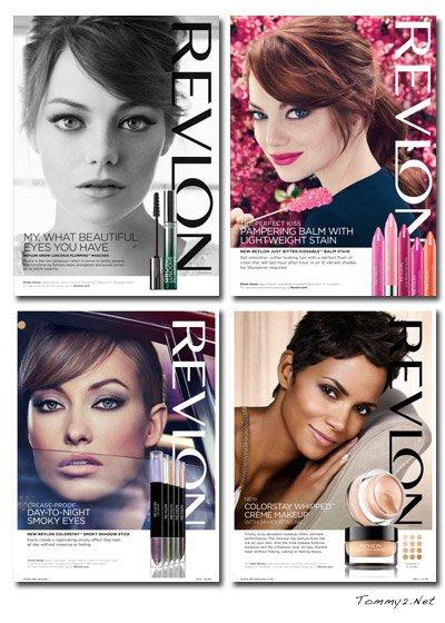 Revlon/Halle Berry, Emma Stone, Olivia Wilde