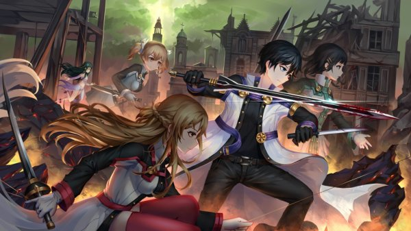J'aime beaucoup sword art online