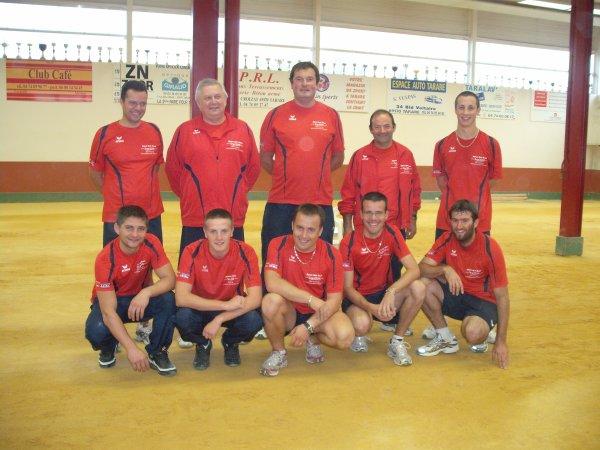 TARARE CLUB SPORTIF MASCULIN  9 OCTOBRE 2010
