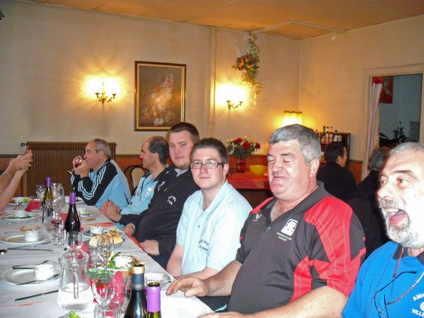 TARARE  GP 20.21 NOVEMBRE 2010 - REPAS AVEC LES DEMI FINALISTES