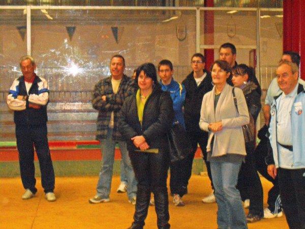 GRAND PRIX DE TARARE - 20.21  NOVEMBRE 2010 - LA RECEPTION