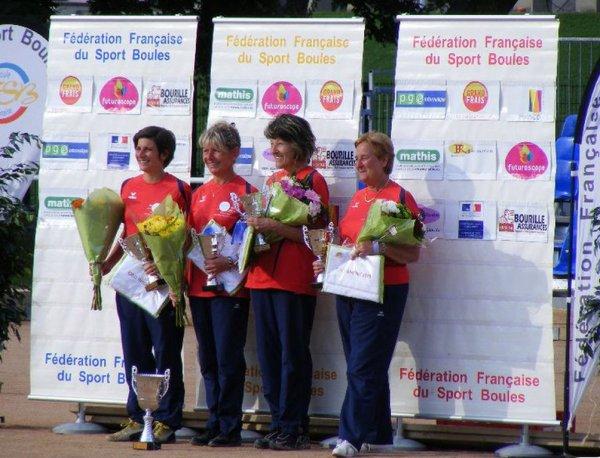 CHAMPIONNATS DE FRANCE 2011 - LES QUALIFIE(E)S EN QUADRETTES ET TRIPLE FEMININ