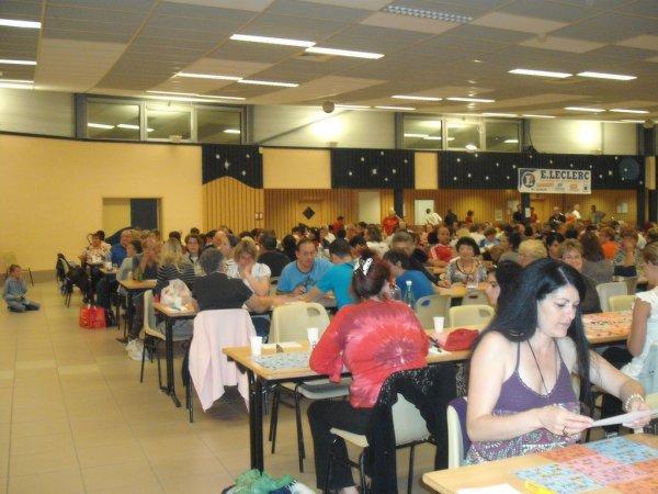30 SEPTEMBRE 2011 - TARARE -  PREMIER LOTO DES FEMININES.