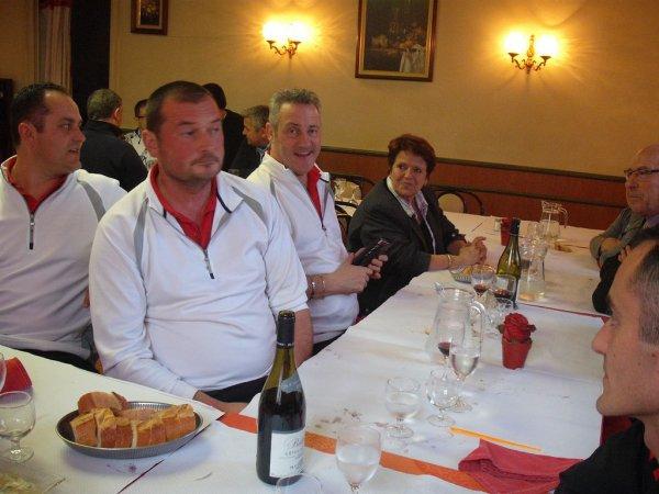 GRAND PRIX 2011 - RECEPTION DES EQUIPES DEMI- FINALISTES