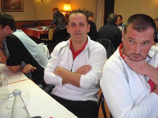GRAND PRIX 2011 - TOUR DE TABLE DES EQUIPES DEMI- FINALISTES