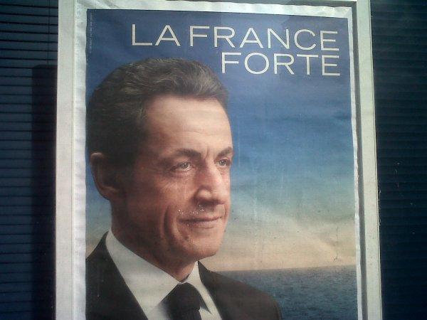 La france morte avec Nicola Sarkozy