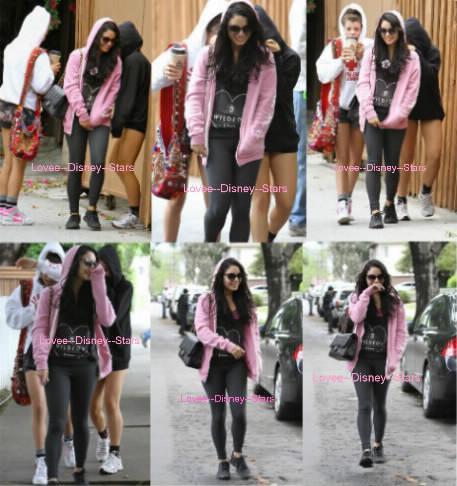 27/04/2012 : Vanessa Hudgens est sortit déjeuner avec sa soeur Stella Hudgens et Sophia Richie