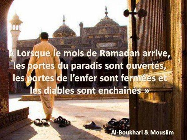 L'arrivée du Ramadan