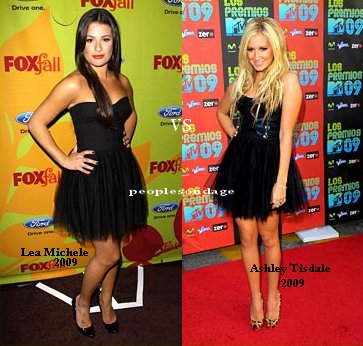 Lea Michele VS Ashley Tisdale Perso Ashley ♥