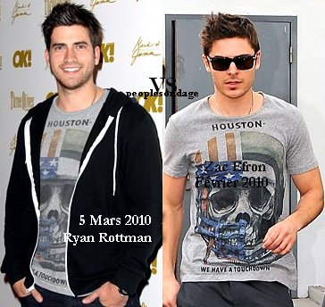 Ryan Rottman VS Zac Efron Perso Zac ♥