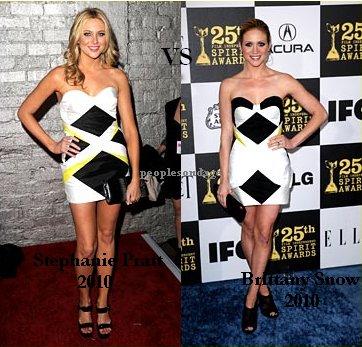 Stephanie Pratt VS Brittany Snow Perso Stephanie ♥
