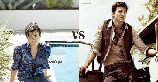 Zac Efron VS Ashton Kutcher Perso Zac ♥