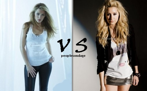 Ashley Tisdale VS Blake Lively Perso Ashley ♥