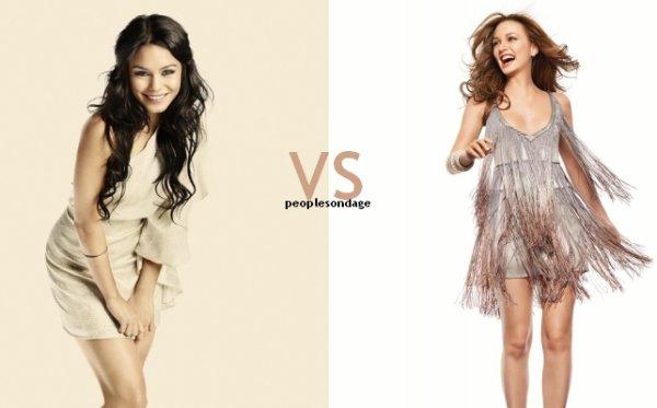 Vanessa Hudgens VS Leighton Meester Perso Vanessa ♥