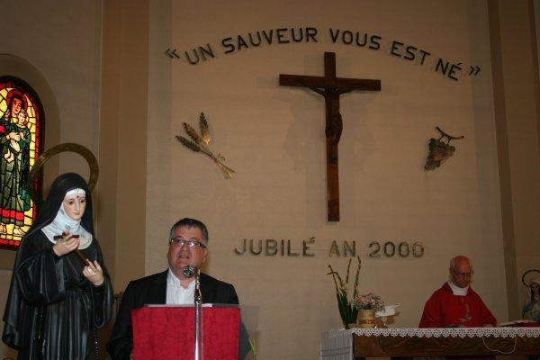 LE CULTE DE SAINTE RITA BIEN PRESENT A L'EGLISE SAINT-CHRISTOPHE DE PERPIGNAN