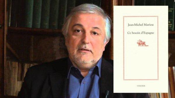 """LE PRIX FERIA 2013 ATTRIBUE A JEAN-MICHEL MARIOU POUR SON LIVRE """"CE BESOIN D'ESPAGNE"""" (EDITIONS VERDIER)"""