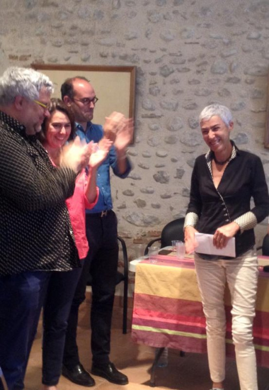 [PRIX FERIA 2016 ]  | MARION MAZAURIC AMBASSADRICE DES MOTS ET DES TOROS