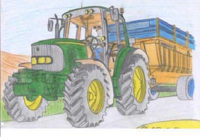 Dessins d 39 un tracteur john deere blog de gurwann fan de - Dessin d un tracteur ...