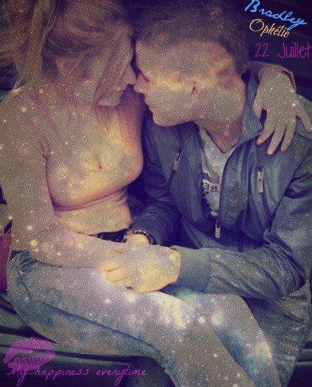 [* t'as été mon plus bel amour, mais aussi mon pire cauchemar _Bradley 22072013_1 an et 6 mois de bonheur* ]
