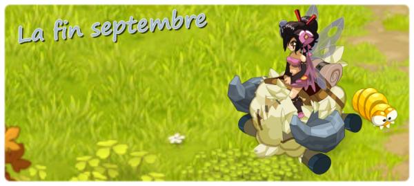 Fin septembre !