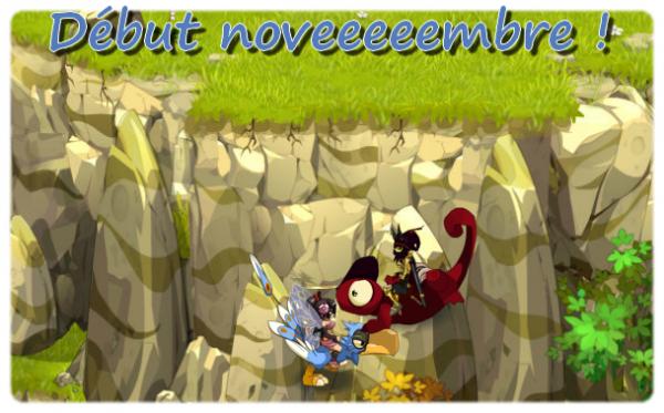 Début novembre !