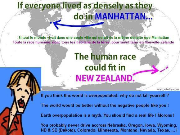 Overpopulation is a myth.