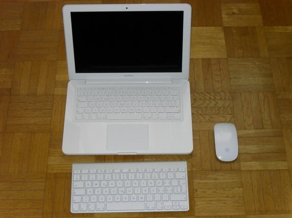 MacBook Blanc