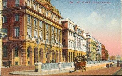 La banque d 39 algerie anciennes photos d 39 alger for Banque exterieur d algerie