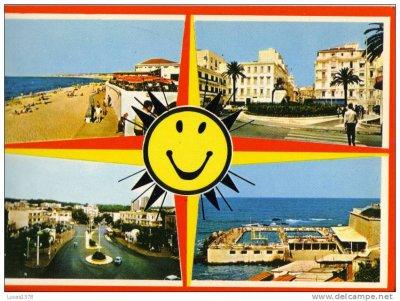 Une belle carte postale d'Alger..!