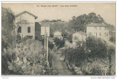 Route d'El Biar - Aux Deux Entetés Café Cactus...!