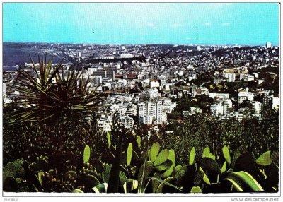 Une vue d'Alger à partir d'El Biar...!