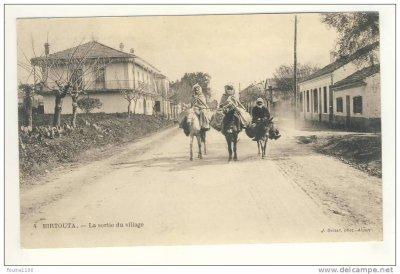 BIRTOUTA - sortie du village...!