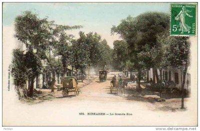 BIRKHADEM - La grande rue ...!