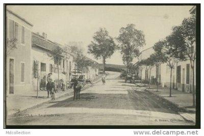 SAOULA - La grande rue..!