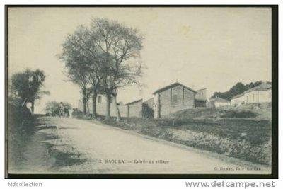 SAOULA - Entrée du village..!