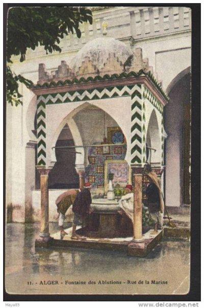 La fontaine de la rue de la marine...!