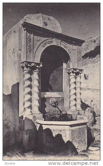 La casbah - Fontaine de la mosquée...!