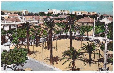 Ain taya - Dar el Beida la place centrale dans les années 50...!