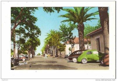 AIN TAYA - Le centre du village et le Boulevard Front de mer...!