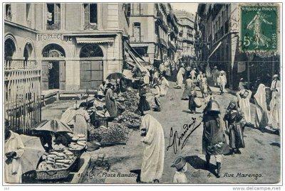Alger - Place Randon & Rue Marengo ..!