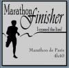 Marathon de Paris 2011.