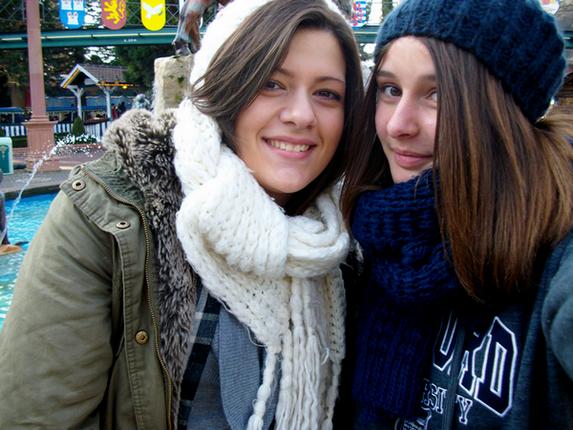 photo:à europapark (oui après des manèges à sensations on n'a pas vraiment une tête potable)