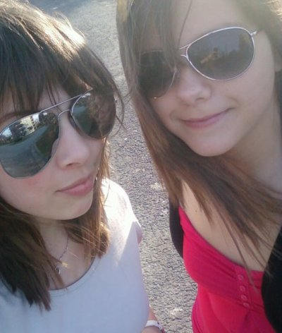 Rebecca et moi  <3
